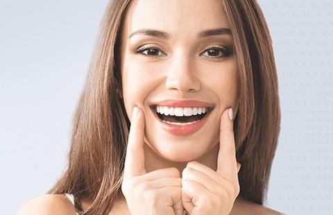 Косметическое отбеливание зубов «Перламутр»