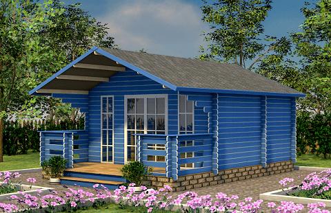 Дома из минибруса «Кедровый рай»